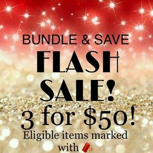 3 for $50 Flash Sale!